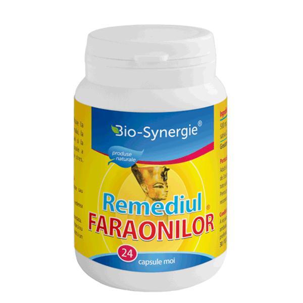 Remediul Faraonilor Bio-Synergie, 24 capsule moi