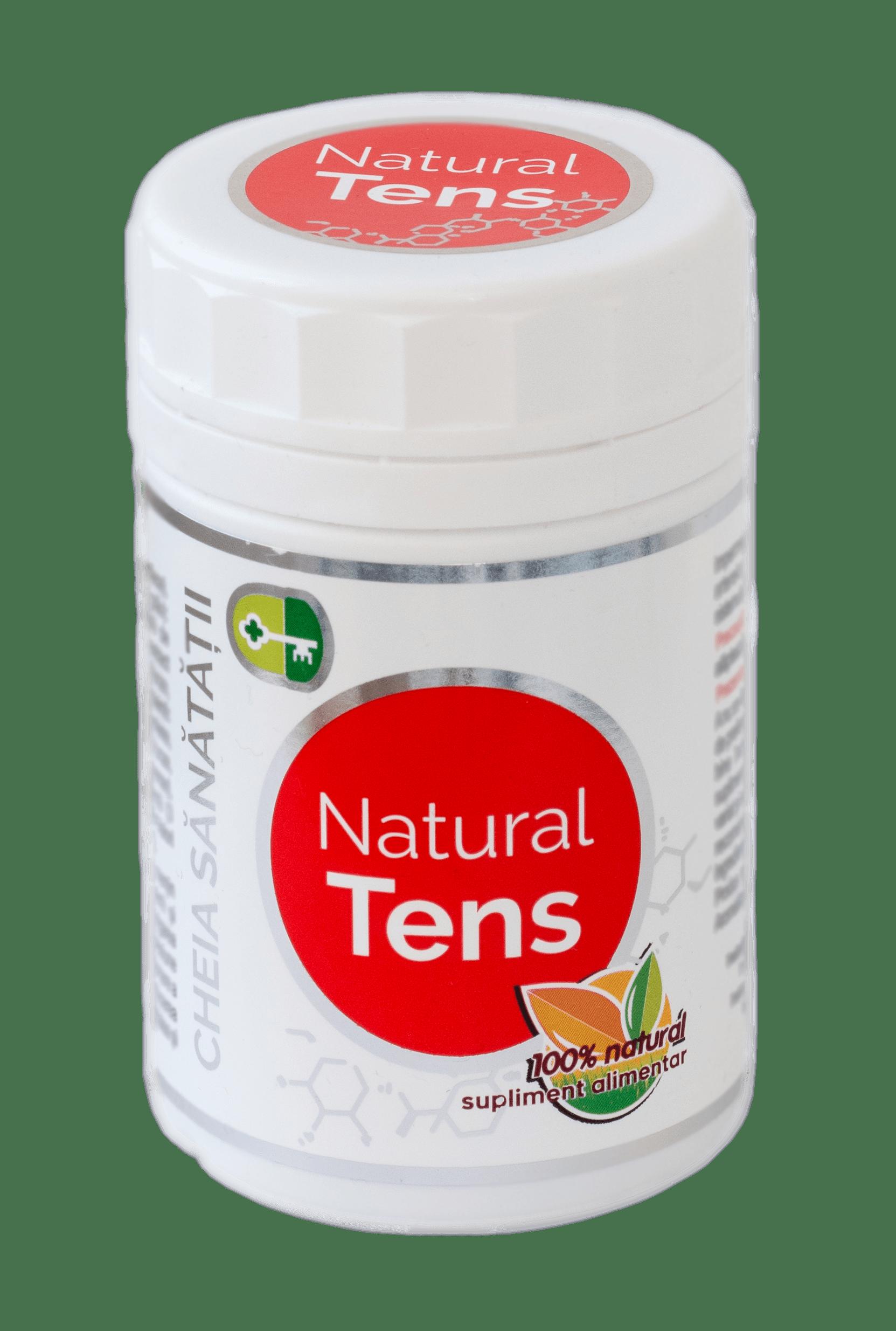 Natural Tens 120 capsule Cheia Sanatatii