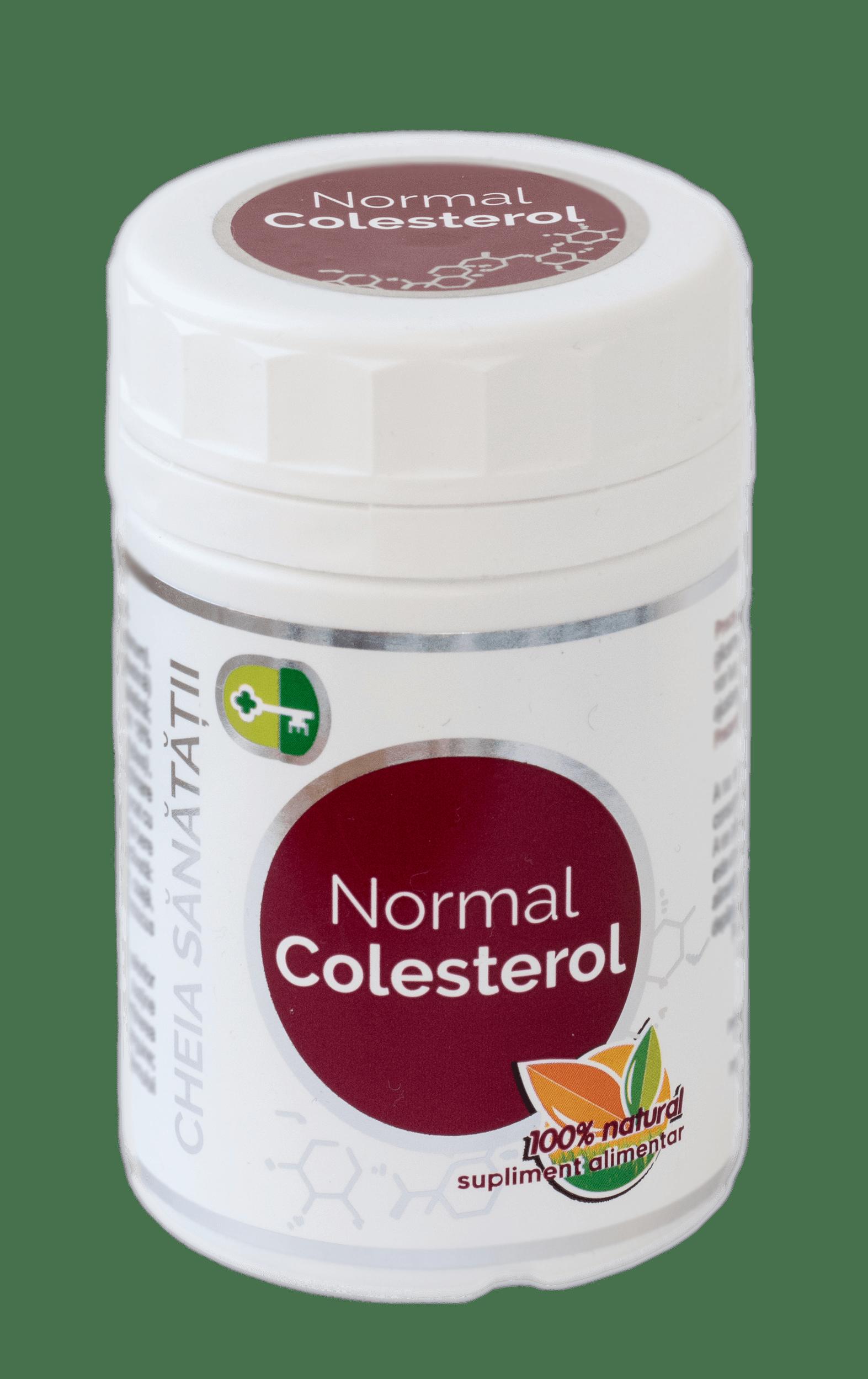 Normal Colesterol 120 capsule Cheia Sanatatii