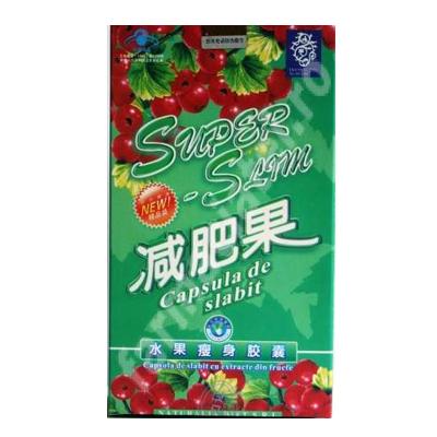 Super Slim, 30 capsule, China   capsula de slabit - pret